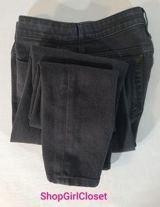 Joe's Vintage Wash Black Skinny Jeans Sz 28